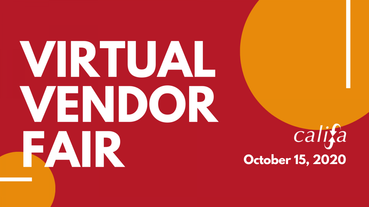Califa virtual vendor fair banner image