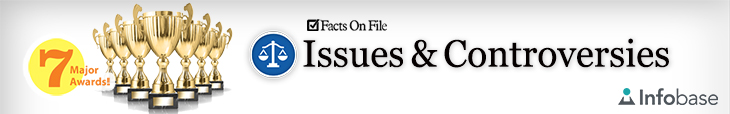Facts on File Issues and Controversies banner